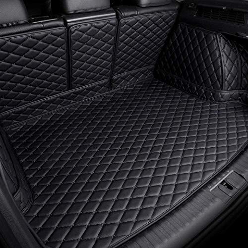 DANHUI Kofferraummatte, Auto-Kofferraummatte, for Mercedes Benz W176 A-Klasse 160 180 200 220 250 260 A45 AMG 6D Maß Auto-Kofferraum Matten Auto Fracht Liner Styling Teppiche Liner (Farbe: Rot
