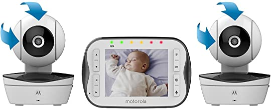 Motorola Video Baby Monitor with 2 Cameras - MBP43S-2