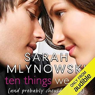 Ten Things We Did audiobook cover art