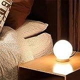 Moderna lámpara de Oficina 15 cm Bola de Madera Maciza Regulable e27 lámpara pequeña lámpara de Noche Cama de Noche lámpara de Noche Escritorio Escritorio iluminación decoración del Hotel.
