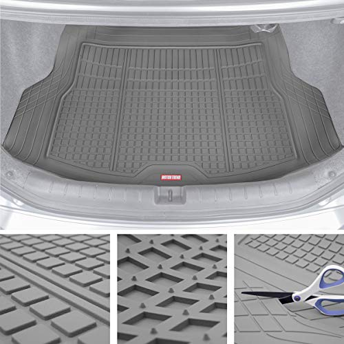 Motor Trend Premium FlexTough All-Protection Cargo Mat Liner – w/Traction Grips & Fresh Design