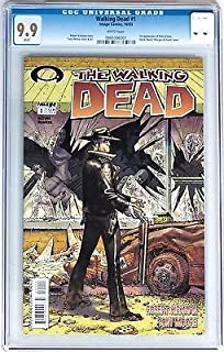 (First Printing) (Black Label) the Walking Dead # 1 Comic Book (CGC 9.9) Graded Image
