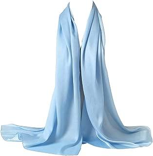 Bellonesc Silk Scarf 100% silk Long Lightweight Sunscreen Shawls for Women