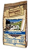 Natural Greatness Salmon Recipe Mini Alimento Seco Completo para Perros -...