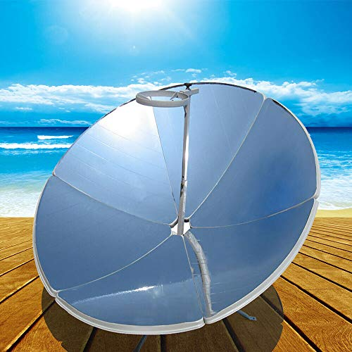 TFCFL Parabolic Portable Solar Cooker Stoves Magnesia Camping Outdoor 1.5m Diameter 1800W (700-1000°C)