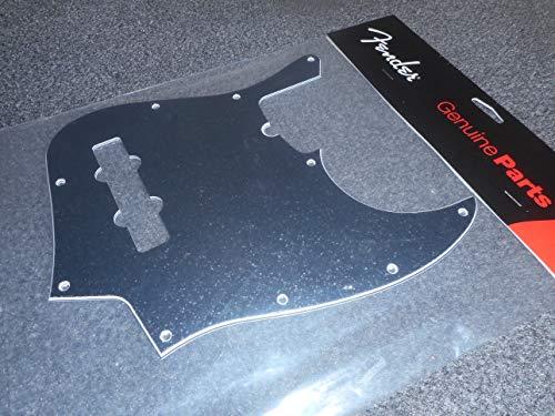 Fender© J-Bass© - Protector de pastilla (4 partes), color negro