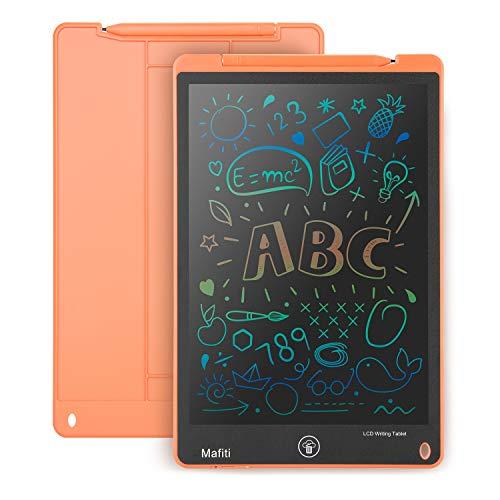 mafiti LCD Schreibtafel für Kinder 11 Zoll, Writing Tablet Kinder, LCD Grafiktable, Digital Schreibtafel Papierlos Grafiktablet, Geschenke für Kinder Jungen Mädchen, Orange