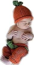 ملابس أطفال أنيقة للجنسين لحديثي الولادة من الجنسين مجموعة على شكل قرع قرع عيد القديسين