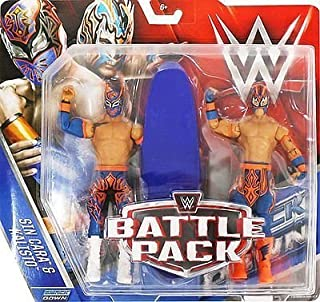 WWE Battle Pack Series 42 Action Figure - Sin Cara & Kalisto (The Lucha Dragons) by Wrestling