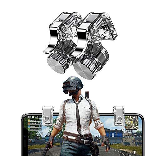 PUBG Mobile Game Controller, Mobil Telefonauslöser Shooter Controller für PUBG/Knives Out/Überlebensregeln, Empfindliche Controller Joysticks, Handy Game Controller Sensitive Schießen (1 Paar)
