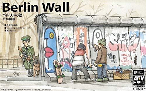 AFV Club AFV35317 Berliner Mauer (3units Wall Set) 1:35, Mehrfarbig