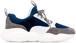 Moschino Luxury Fashion Womens MA15103G18MM175A Blue Sneakers   Fall Winter 19