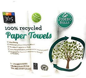 365 Everyday Value, Paper Towels, Jumbo Roll, 6 ct