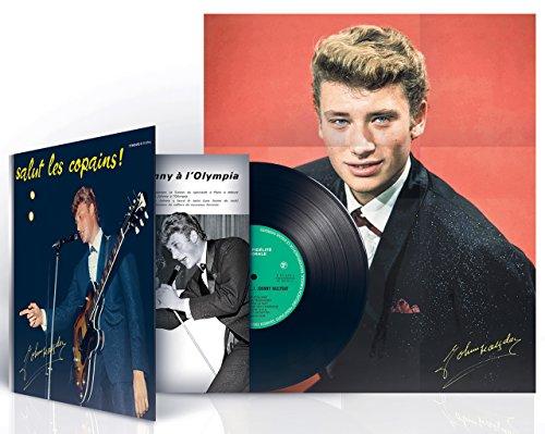 Salut Les Copains-Edition 25cm avec Poster, Argent A Chaud & CD Bonus