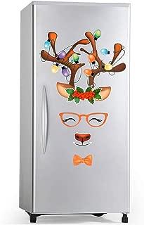 D-FantiX Reindeer Refrigerator Magnets Set of 20, Cute Fun Holiday Magnets for Fridge Dishwasher Christmas Magnets Garage Door Christmas Decorations
