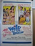 WILD ON THE BEACH-SONNY & CHER-BIKINIS-1965 BEACH PARTY VG