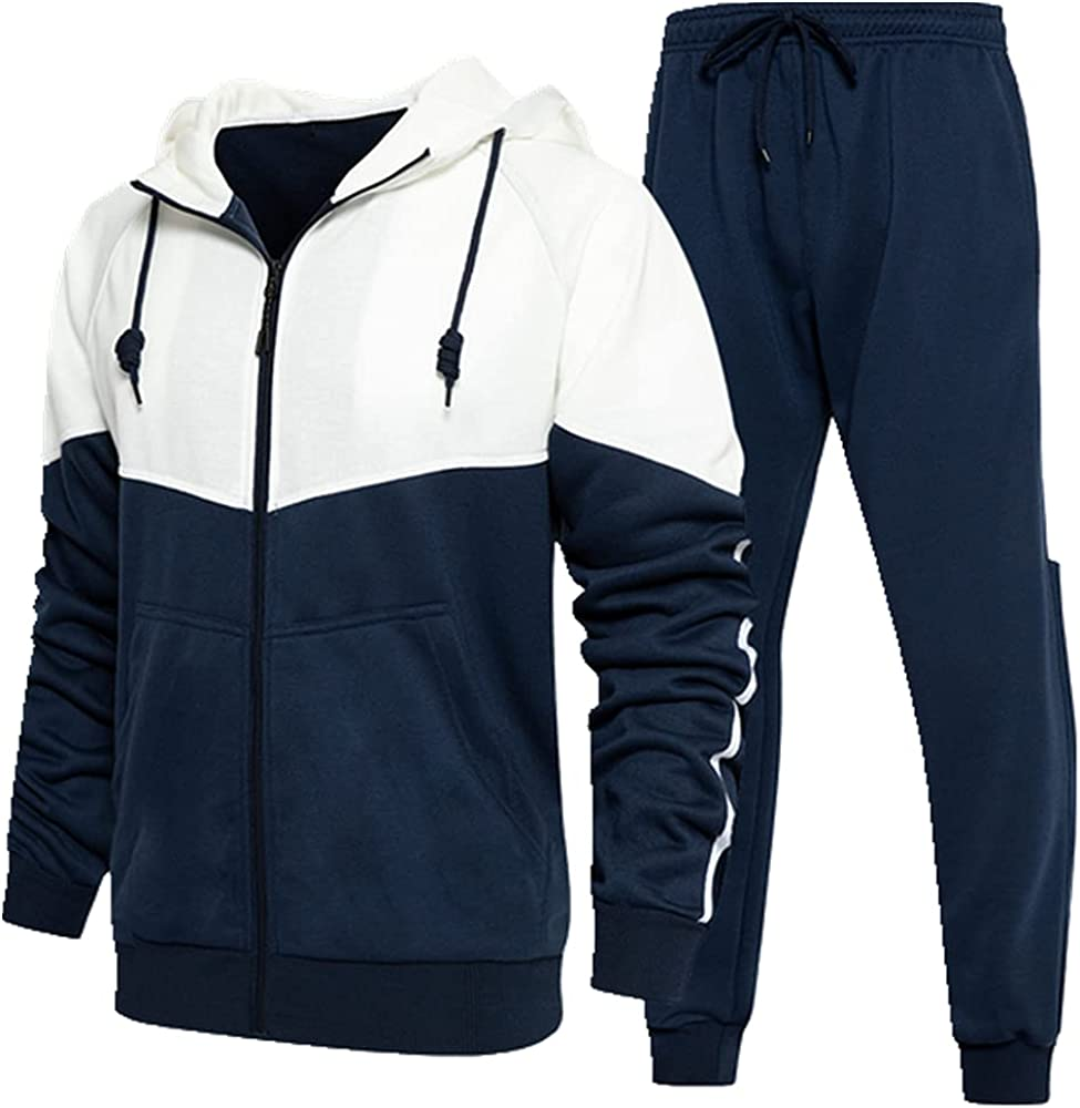 Men Tracksuit Spring Autumn Hoodie New mail order Set Sports Men's Suit Pieces Bombing new work