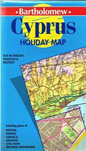 Cyprus (Bartholomew Holiday Map S.)