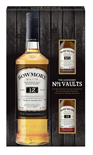 Bowmore 12 Years 0,7 Liter Geschenkset mit Nosingglas