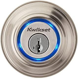 Kwikset Kevo (1st Gen) Touch-to-Open Bluetooth Smart Lock in Satin Nickel