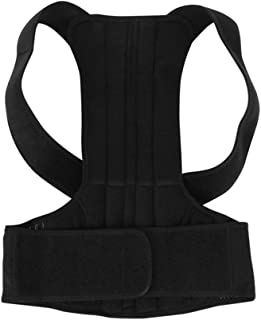 Qiyun Adjustable Adult Corset Back Posture Correction Therapy Shoulder Lumbar Brace Spine Support Belt