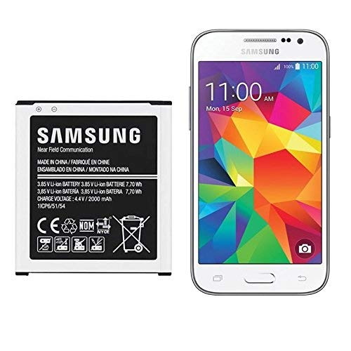 Original Samsung Replacement Battery Compatible With Galaxy Core Prime / Core Prime Duos / Core Prime VE / J2 SM-G360 / SM-G360F / SM-G361F / J200H models