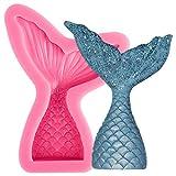 musykrafties sirena coda Candy Stampo in Silicone Per Sugarcraft,ripieno decorazione torte...