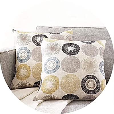 JLCROTENGRA Decorative Throw Pillow Covers Patterns Printed Boho Pillow Covers for Living Room Couch Sofa Bedroom, Accent Pillow Cases, Pack of 2, 20X20 Limbo Taupe