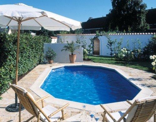 Interline 55000120 oval Pool Sunlake Komplett Set - 5