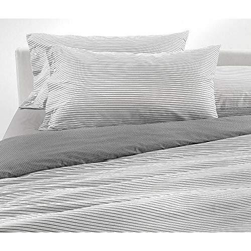 GABEL - Gabel Juego de sábanas individual TAILOR estampado sobre madapolam 58 hilos - gris 900, individual