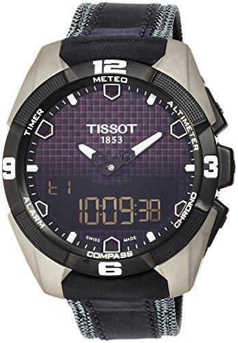 Tissot T0914204605101 T-Touch Expert - Orologio da uomo in titanio