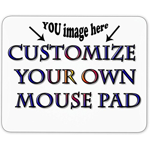 Personalized Mouse Pad - Add Pictures, Text, Logo or Art Design and Make Your own Customized Mousepad - Gaming, Office, Mousepad.