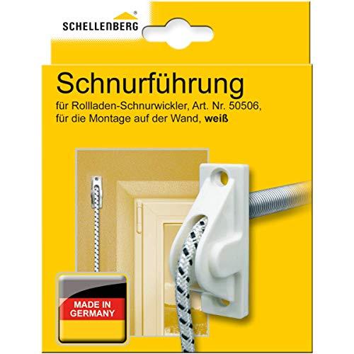 Schellenberg 11034 snoergeleiding voor rolluiksnoer, rolluiksnoer, vermindert de slijtage van snoeren
