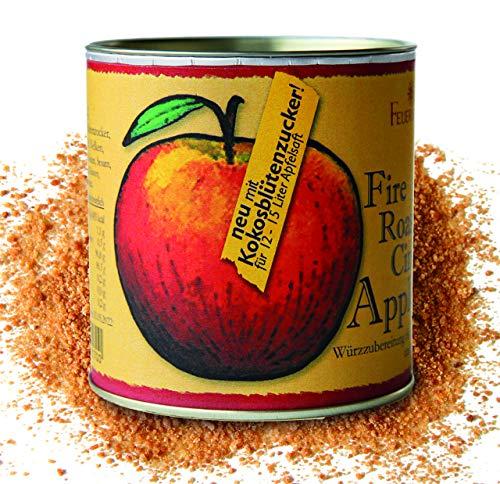 Feuer & Glas® Apfelsaft-Gewürz mit Kokosblüten-Zucker, 180g - Fire Roasted Cinnamon Apple Spices Gewürzpulver