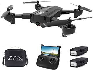 GoolRC SG900 RC Drone with Camera 4K 22mins Flight Time RC Quadcopter Optical Flow Positioning Gesture Photo Video Image Follow Altitude Hold Drone 2 Battery Handbag
