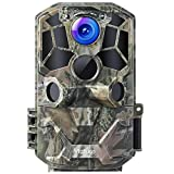 Victure WiFi Trail Game Camera 30MP 1296P with Night Vision Motion Activated IP66 Waterproof and 120° Detection Angel for Hunting Games, Wildlife Monitoring and Home Security