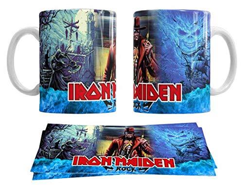 Los Eventos de la Tata. Tazas Iron Maiden