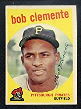 1959 Topps #478 Roberto Clemente Pirates EX 372250 Kit Young Cards