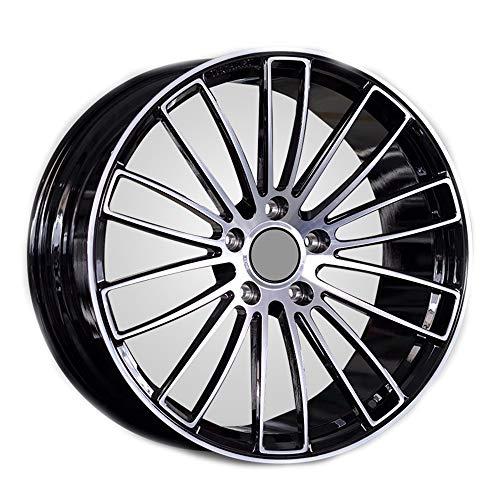 GYZD Alu Felgen 17 Zoll Durchfluss geschmiedete Radlegierung Ersatzrad Auto Rad Maschine Aluminium Felge Passend für R17 *8J Reifen Geeignet für macan 718 911 (1 Stück),A