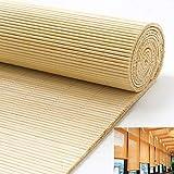 Tenda A Rullo in bambù-Tenda di bambù,Natura,Tenda da Sole,Tapparella in Listelli di Bamboo,per Finestre E Porte Interni Cortina di Legno Decorazione