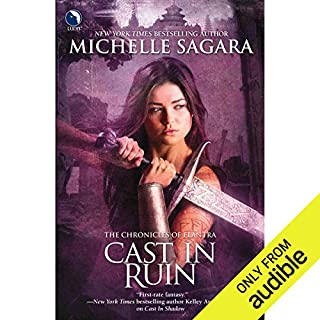 Cast in Ruin     Chronicles of Elantra, Book 7              Written by:                                                                                                                                 Michelle Sagara                               Narrated by:                                                                                                                                 Khristine Hvam                      Length: 15 hrs and 4 mins     2 ratings     Overall 3.5