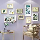 KINGXX-03 Marcos de Fotos Madera Photo Frames Set 10 Piezas, Mashup Estilo Grande Combinación de imágenes múltiples Imagen de Pared Bricolaje