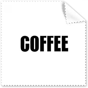 DIYthinker Coffee Color Black Name Glasses Cloth Cleaning Cloth Phone ...