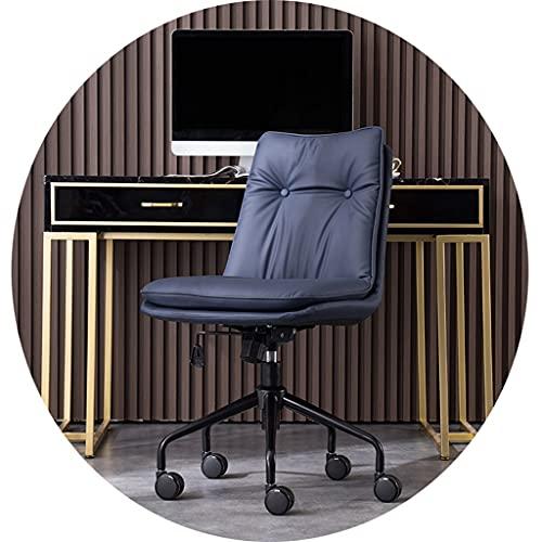 Sillas de computadora Luz de Lujo Oficina sedentaria Simple y cómoda Escritorio para el hogar Dormitorio Levantamiento Respaldo Giratorio