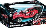 Playmobil- Voiture de Course Rouge radiocommandée, 9090