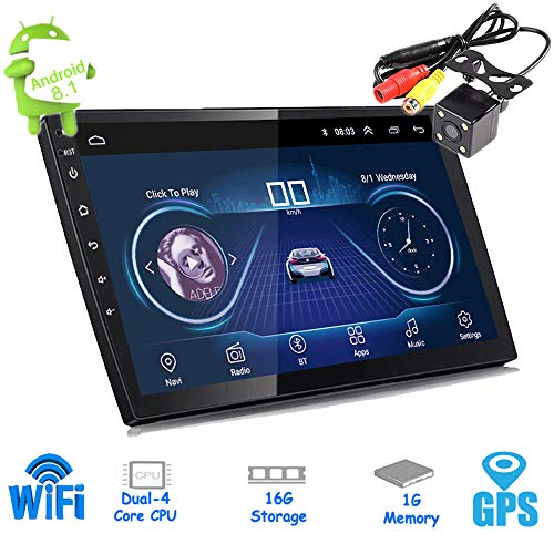 PolarLander 10 Pulgadas Android 8.1 Autoradio Bluetooth