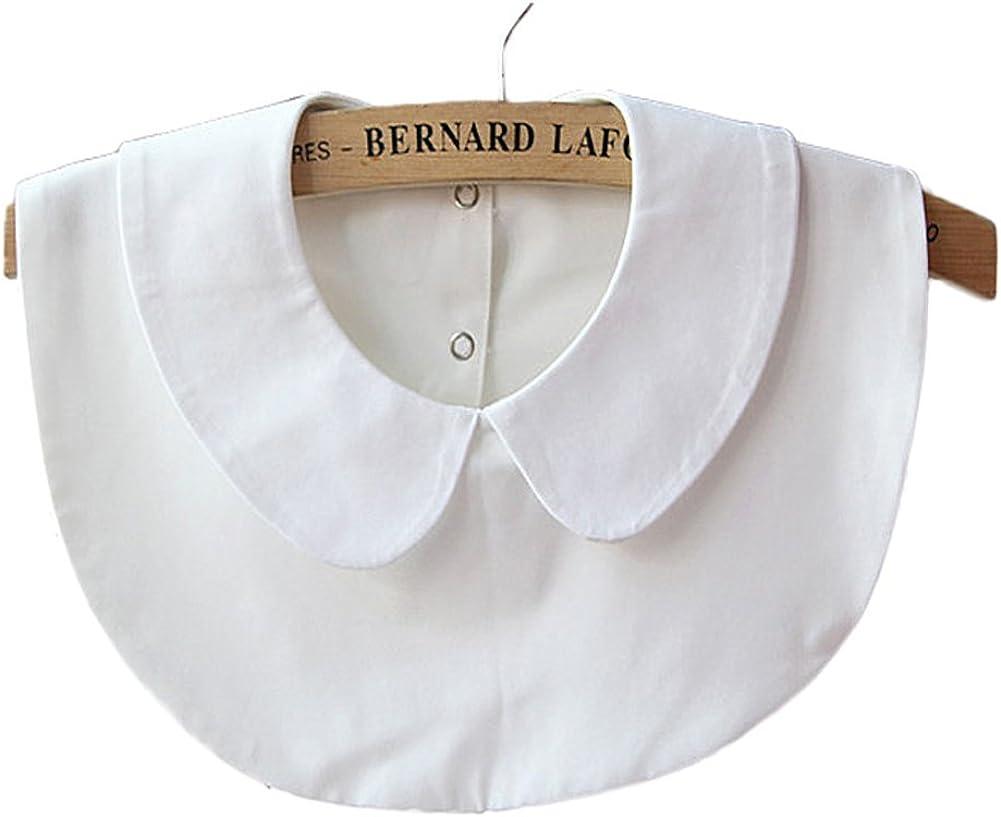 Vivian Women's Girls Detachable False Collar Half Shirt Blouse Necklace Collar Tie