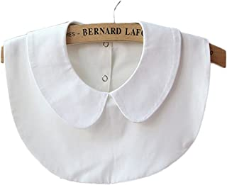 Women's Girls Detachable False Collar Half Shirt Blouse Necklace Collar Tie