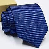 MNBVCX Mode Plaid Polyester Jacquard 100Cm Krawatte Kleid Business Krawatte