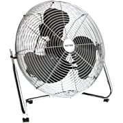 "Patton 14"" High Velocity Floor Fan, U2-1403-UC,Chrome"
